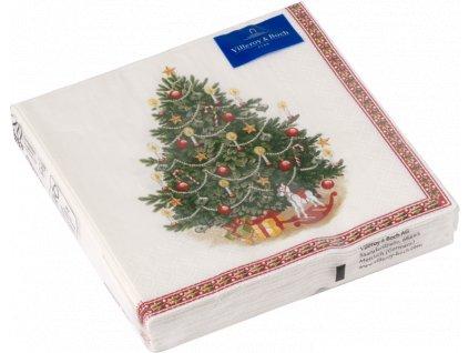 27111 villeroy amp boch servitky vianocny stromcek 33x33 cm winter specials