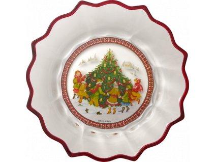 27156 christmas glass access velka misa vianocny strom sklenena villeroy amp boch