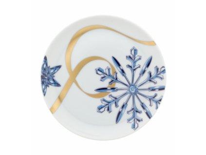 27168 vista alegre vianocny tanierik 12 3 cm crystallize