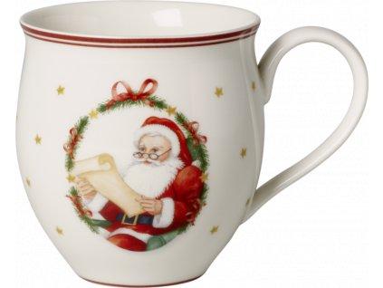 Toy´s Delight - set 4ks hrnčekov pán Santa a pani Santová 0,34l - Villeroy & Boch