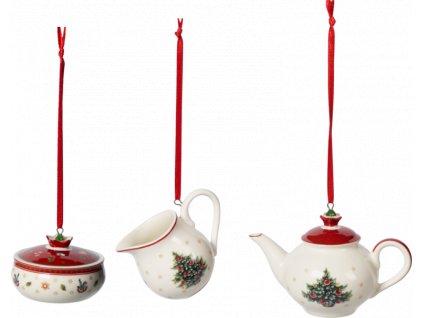 Toy's Delight Decoration - Ornament set 3ks - Villeroy & Boch