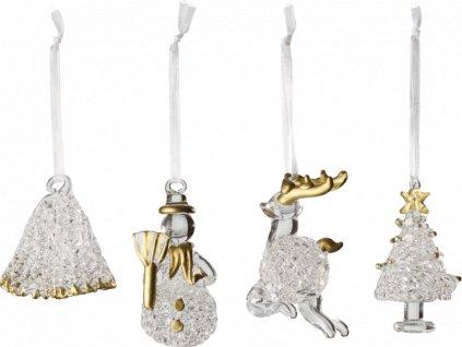 Toys Delight Royal Classic Accessoires - závesná ozdoba, 8,8 x 4,8 cm - Villeroy & Boch