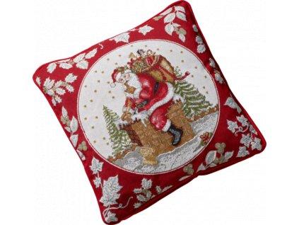 Villeroy & Boch - gobelínový vankúš Santa 50 x 33 cm - Toys Fantasy - kopie