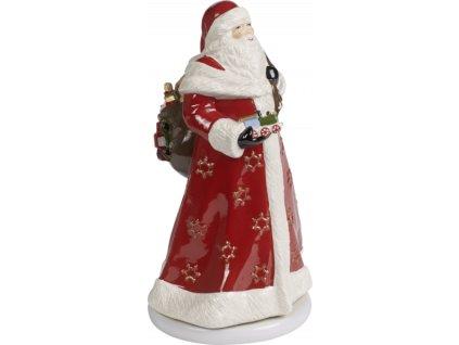27318 christmas toys memory dekoracia otocny santa 34 cm villeroy amp boch