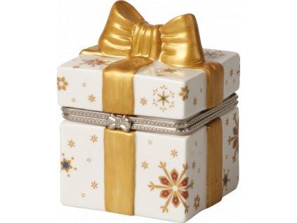 Christmas Toys - darčeková krabička, 8,5 cm, Santa - Villeroy & Boch