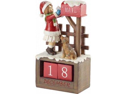 Christmas Toys Accessoires - adventný kalendár Santa, 23 cm - Villeroy & Boch