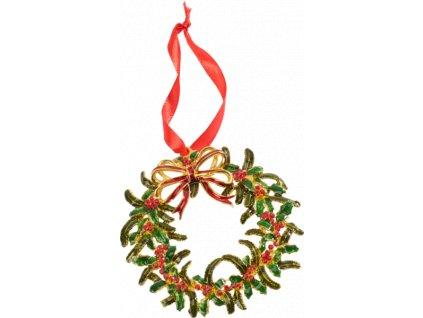 Christmas Toys Accessoires - závesná ozdoba venček, 12 cm - Villeroy & Boch