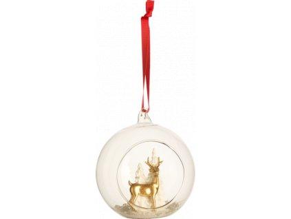 Christmas Toys Accessoires - závesná ozdoba sklenená guľa , 12 cm - Villeroy & Boch