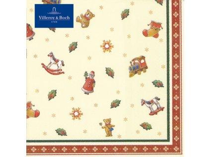 Villeroy & Boch - servítky Hračky 25x25 cm - Winter Specials