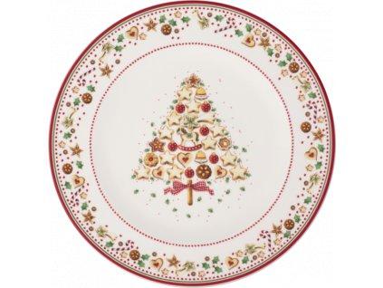Villeroy & Boch - bufetový tanier 32 cm - Winter Bakery Delight