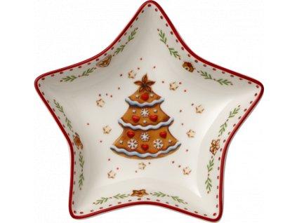 Villeroy & Boch - malá miska Medovník 13 cm - Winter Bakery Delight