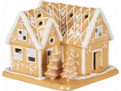 Villeroy & Boch - svietnik medovníková vila- Winter Bakery Decoration