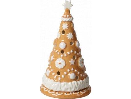 Villeroy & Boch - svietnik medovníkový stromček 15 cm - Winter Bakery Decoration