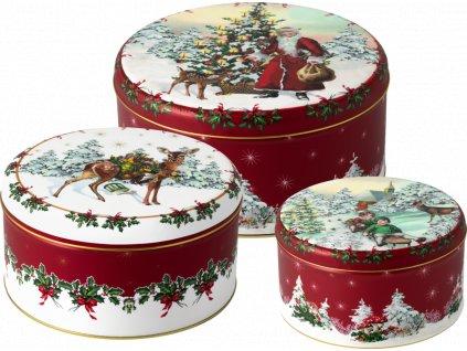 Winter Bakery Accessoires -  dózy na koláčiky, Set 3 ks - Villeroy & Boch