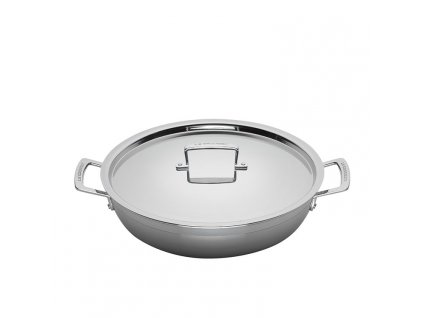 Le Creuset 3 Ply Stainless Steel Shallow Casserole 30cm 4 8L 1 750px