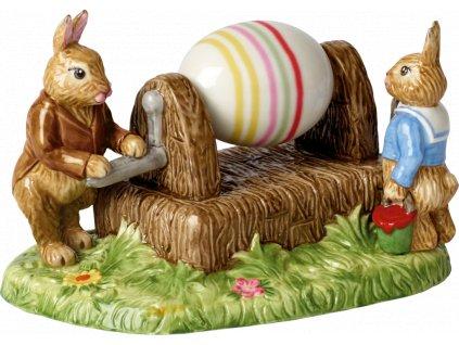 Villeroy & Boch - zajačikovia, maľovanie vajíčok  - Bunny Tales