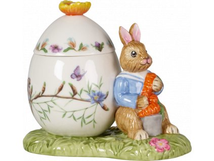 Villeroy & Boch - zajačik Max s vajíčkom - box  - Bunny Tales
