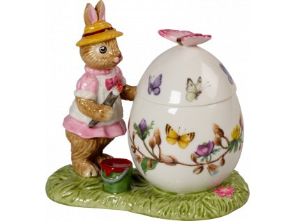Villeroy & Boch - zajačica Anna s vajíčkom - box  - Bunny Tales