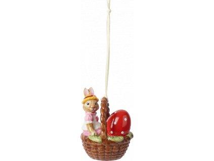 Villeroy & Boch - zajačica Anna v košíku - Bunny Tales