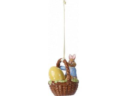 Villeroy & Boch - zajačik Max v košíku - Bunny Tales