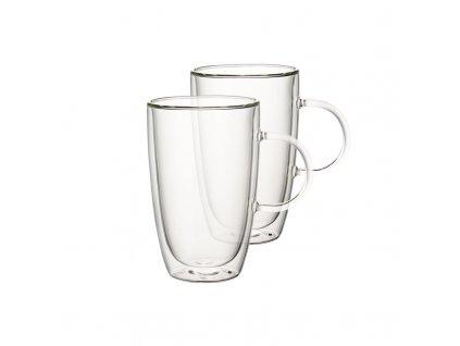 Villeroy & Boch - Artesano Hot Beverages, Set 2 ks,  šálka XL na čaj, punč, latte macchiato 0,49l/140mm