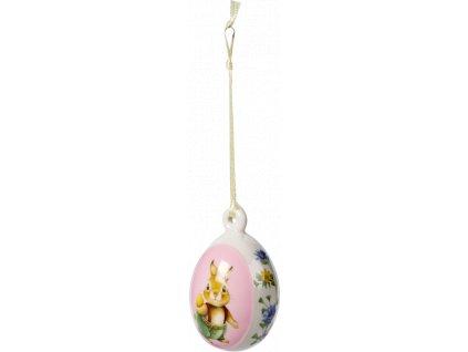 Villeroy & Boch  - ornament vajíčko, 7,5 cm - Spring Fantasy