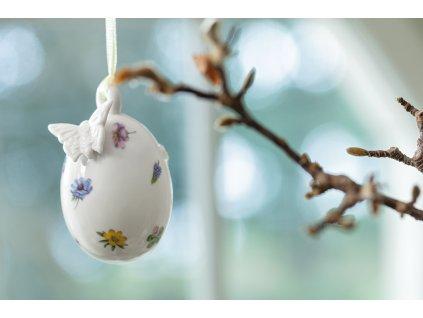 Villeroy & Boch  - ornament vajíčko s motýlikom, 7,5 cm - Spring Fantasy