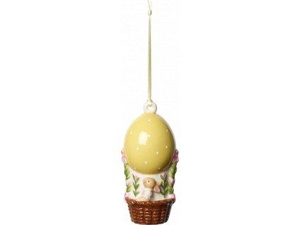 Villeroy & Boch - zajačik s vajíčkom - balón - závesná ozdoba - Bunny Tales