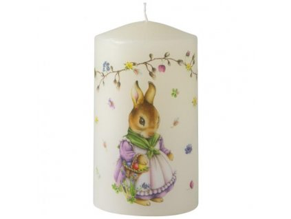 villeroy boch Easter Accessoires Candle flower tendril 70x120mm 30