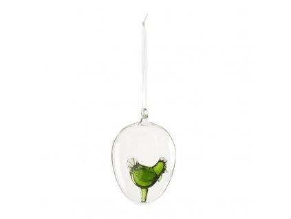 Villeroy & Boch -  Kohútik v skle zelený - 8,25cm