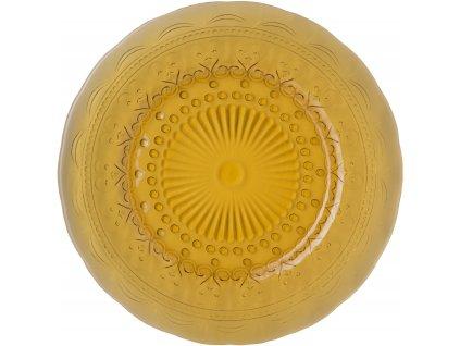 Zafferano Provenzale - tanier stredný 28cm - jantárový