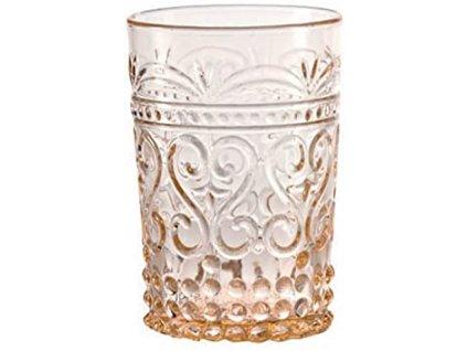 Zafferano - pohár Provenzale Rock - ružový - Posledný kus
