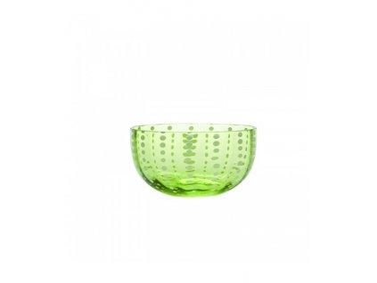 Zafferano - miska malá - zelená