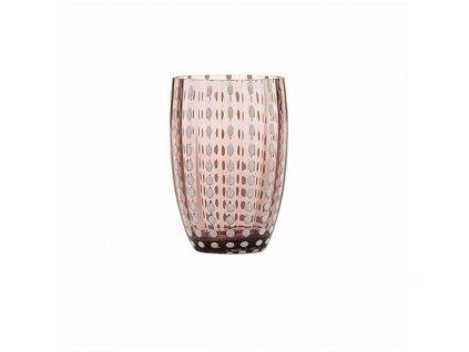 Zafferano - pohár Perle - fialový