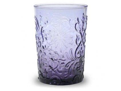 Zafferano - pohár fialový 0,27l - Barocco