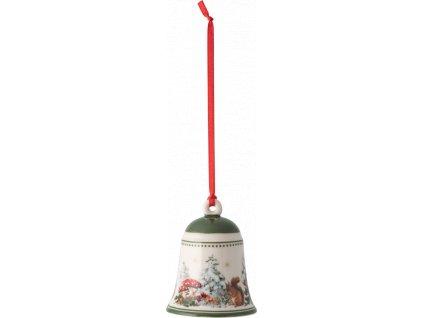 My Christmas Tree - zvonček s veveričkou, 5,5 cm - Villeroy & Boch