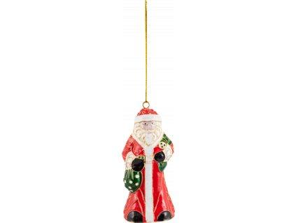 Winter Collage Accessoires - závesná ozdoba Santa, 12 cm - Villeroy & Boch