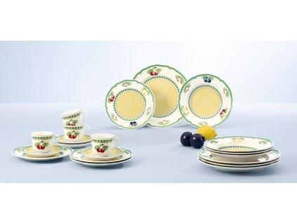 Villeroy & Boch: Základný obedový set 30 ks pre 6 osôb - French Garden Fleurence