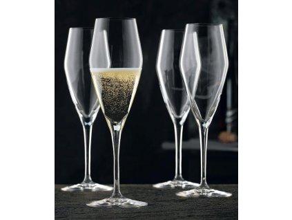 Nachtmann - Poháre na šampanské 24cm/0,28 l- Set 4 kusy - VINOVA