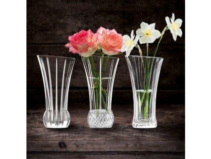 Nachtmann - váza Spring, set 3 ks