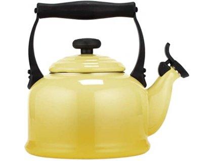 Le Creuset  - kanvica, čajník žltý