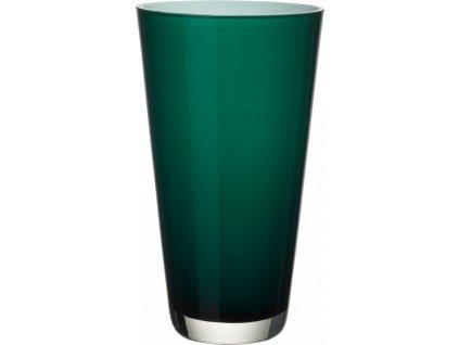 Villeroy & Boch - váza Verso (38 cm) smaragdovo zelená
