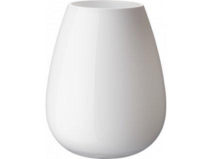 Villeroy & Boch - váza Drop 22,8 cm - arktická biela