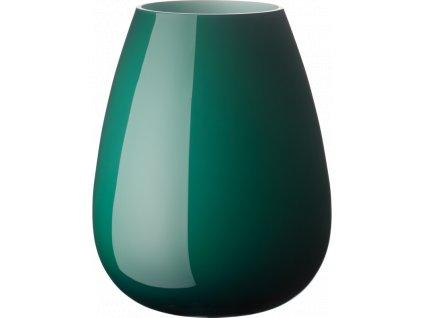 Villeroy & Boch - váza Drop 22,8 cm - smaragdovo zelená