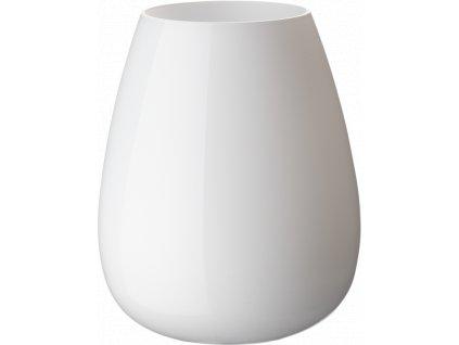 Villeroy & Boch - váza Drop 18,6 cm - arktická biela