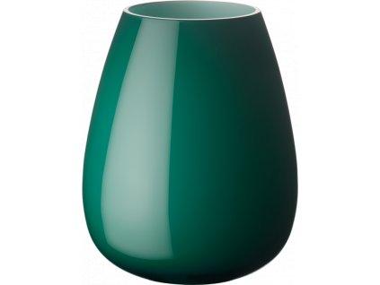 Villeroy & Boch - váza Drop 18,6 cm - smaragdovo zelená