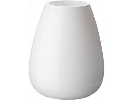 Villeroy & Boch - váza Drop Mini 12 cm - arktická biela