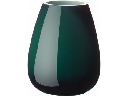 Villeroy & Boch - váza Drop Mini 12 cm - smaragdovo zelená