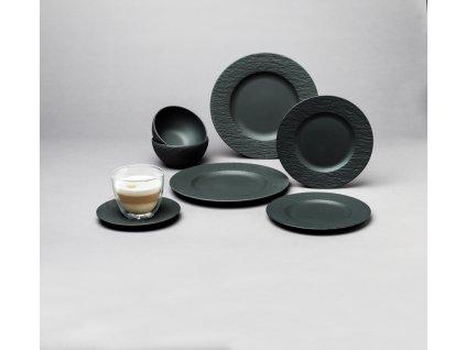 Villeroy & Boch - štartovací set pre dve osoby (10ks) - Manufacture Rock
