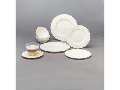 Villeroy & Boch - štartovací set pre dve osoby (10ks) - Manufacture Rock blanc